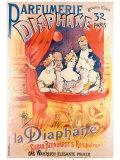 Parfumerie Diaphane Gicléetryck