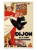 Dijon Gastronomique Culinary Exhibit Giclee Print