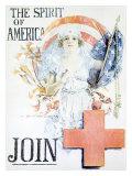 WWI, Spirit of America Giclee-trykk av Howard Chandler Christy
