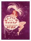Casino de Paris Grand Revue Giclee Print