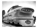 New York, Central Railroad Bullet Train Giclée-Druck