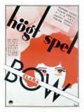 Clara Bow No Limit Giclee Print