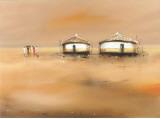 On the Waterfront III Prints by Jan Eelse Noordhuis