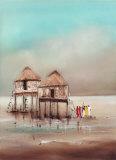 On the Waterfront I Prints by Jan Eelse Noordhuis