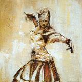 Flamenco II Poster di Monica Galvan