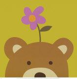 Peek-a-Boo VI, Bear Prints by Yuko Lau
