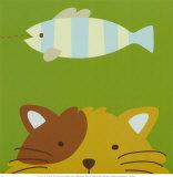 Peek-a-Boo II, Cat Posters by Yuko Lau