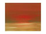 Red Sunset Pôsters por Kenny Primmer