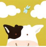 Peek-a-Boo III, Cow Prints by Yuko Lau