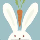 Peek-a-Boo I, Rabbit 高画質プリント : ユーコ・ラウ