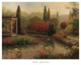 Estanque del jardín Láminas por  Haibin