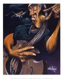 Movin' Strings Poster af David Garibaldi