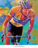 Lance Armstrong – 7X Tour de France Champion Prints by Malcolm Farley