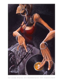 DJ Jewel Print by David Garibaldi