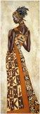 Femme Africaine II Posters par Jacques Leconte