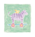 Zebra Toy Prints by Karen Anagnost