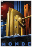 Futur Monde Kunstdrucke von Michael L. Kungl