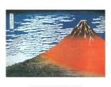Monte Fuji, Japón Póster por Katsushika Hokusai