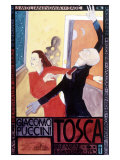 Tosca Premier Art Exhibit Gicléetryck
