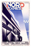 Nord Express Reproduction procédé giclée