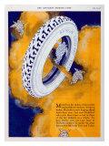 Michelin, Angel Tire Giclée-Druck