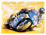 Michelin, Kenny Roberts Cycle Giclee Print