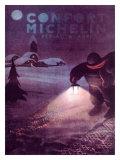 Michelin, Winter Tire Giclée-Druck