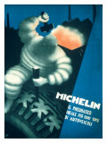 Michelin, Tire Forge Giclée-Druck