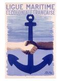 Colonial Maritime League Giclée-Druck von Paul Colin