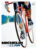 Michelin, Elan Bicycle Tire Giclée-Druck