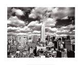 Himmel über Manhattan Kunstdrucke von Henri Silberman