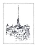 Eiffelturm Poster von Avery Tillmon