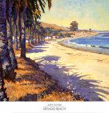 Refugio Beach Arte por John Comer