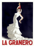 La Granero Flamenco Dance Giclee Print by Paul Colin