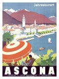 Ascona Swiss Giclee-trykk