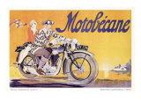 Motobecane Giclee Print by Geo Ham