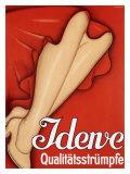 Poster collant pour femmes Reproduction procédé giclée par Johannes Handschin