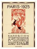 Paris Art Exposition, c.1925 Giclee Print by Robert Bonfils