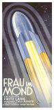 フリッツ・ラングのロケット - 月の女号 ジクレープリント