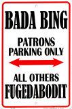 Bada Bing Blechschild