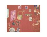 The Red Studio, 1911 Posters av Henri Matisse
