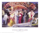 Vintage Theatre II Plakater af  Marysia