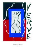 Verve, c.1937 Silketrykk av Henri Matisse