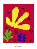 Elements Vegetaux, c.1947 Sérigraphie par Henri Matisse