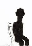 Stolen Serigrafiprint (silkscreentryck) av Petrus Deman