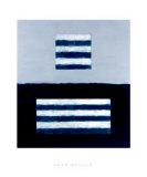 Landeline Blue, c.1999 Giclée-Premiumdruck von Sean Scully