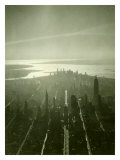 New York City Skyline Giclée-Druck