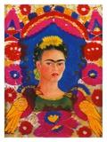The Frame, c. 1938 Gicléedruk van Frida Kahlo
