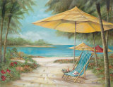 Relaxing Paradise II Posters by Ruane Manning