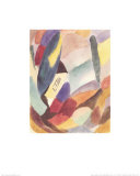Variation: Yellow Chapel in the Fall, c.1915-16 Prints by Alexej Von Jawlensky